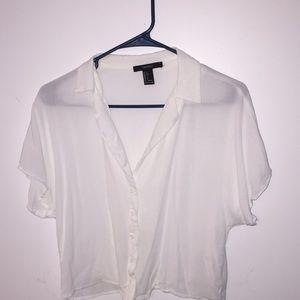 buttoned up shirt